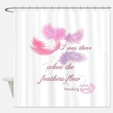Breaking Dawn Feathers Shower Curtain