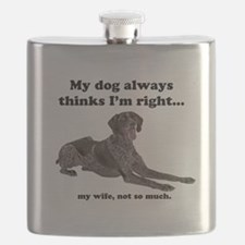 Pointer v Wife Flask