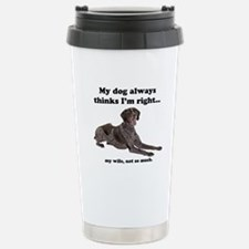 Pointer v Wife Travel Mug