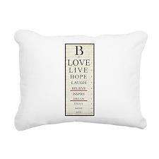 Lifes Focus Rectangular Canvas Pillow