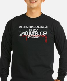 Mechanical Engineer Zombie T