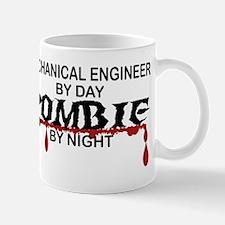 Mechanical Engineer Zombie Mug