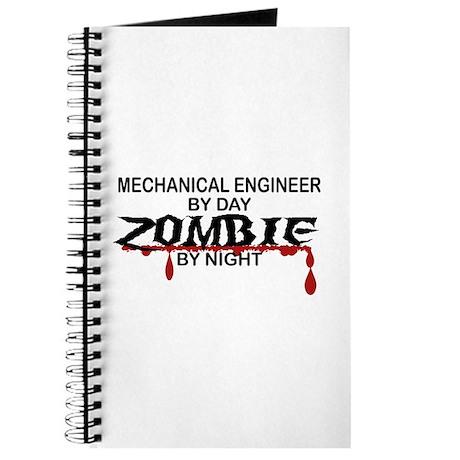 Mechanical Engineer Zombie Journal