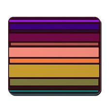 Colorful Stripes Voiceart Mousepad