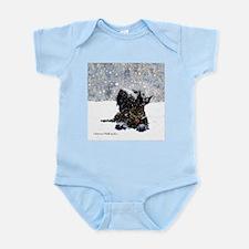 Scottish Terrier Christmas Infant Bodysuit