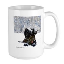 Scottish Terrier Christmas Mug