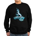 Cabin in the Woods Unicorn Sweatshirt (dark)