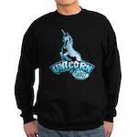 Cabin in the Woods Unicorn Sweatshirt (dark)
