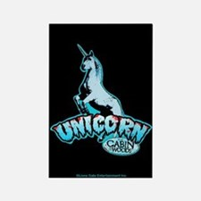 Cabin in the Woods Unicorn Rectangle Magnet