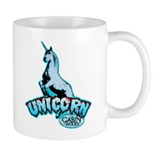 Cabin in the Woods Unicorn Small Mug