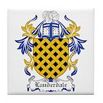 Lauderdale Coat of Arms Tile Coaster