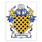Lauderdale Coat of Arms Small Poster