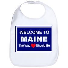 Maine Love Bib