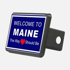 Maine Love Hitch Cover