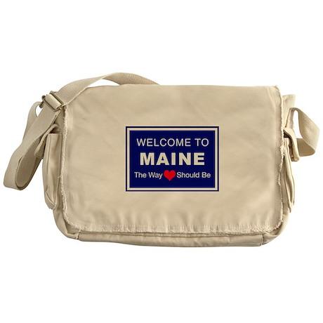 Maine Love Messenger Bag