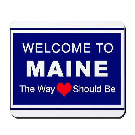 Maine Love Mousepad