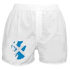 Scotland map flag Boxer Shorts