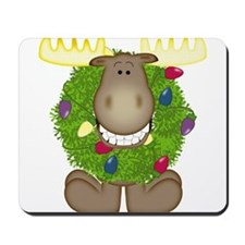 Merry Christmoose Mousepad