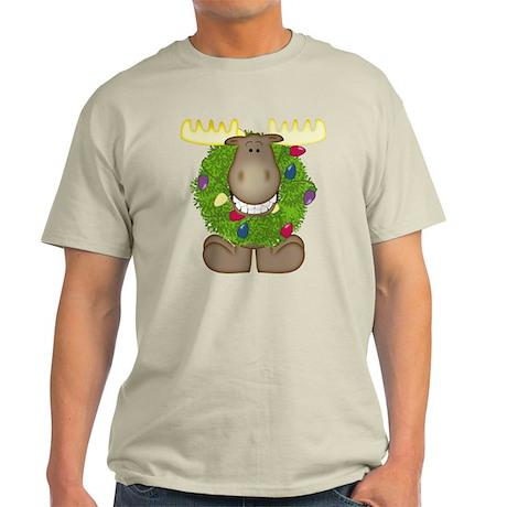 Merry Christmoose Light T-Shirt