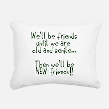 Well be friends png.png Rectangular Canvas Pillow