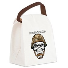 SCG Skull Canvas Lunch Bag