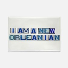 I AM A NEW ORLEANIAN Rectangle Magnet