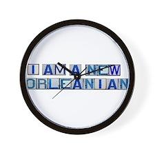 I AM A NEW ORLEANIAN Wall Clock