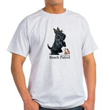 Scottish Terrier Beach Patrol T-Shirt
