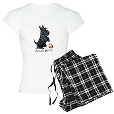 Scottish Terrier Beach Patrol Pajamas