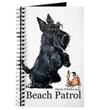 Scottish Terrier Beach Patrol Journal