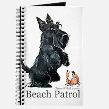 Scottish Terrier Beach Patrol Journal