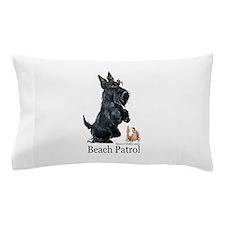 Scottish Terrier Beach Patrol Pillow Case