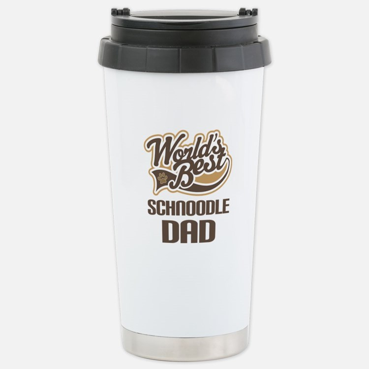 Schnoodle Dad Travel Mug