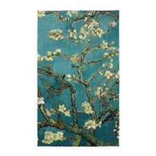 Van Gogh Almond Branches In Bloom 3'x5' Area Rug