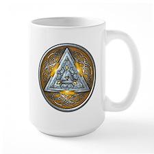 Norse Valknut - Yellow Mug