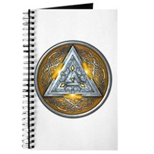 Norse Valknut - Yellow Journal