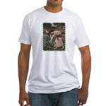 Gathering Flowers Fitted T-Shirt