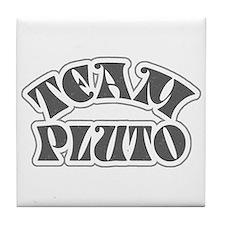 Team Pluto Tile Coaster