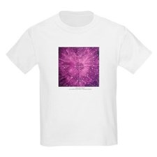 AMETHYST HEART Kids T-Shirt