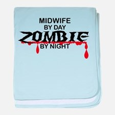 Midwife Zombie baby blanket