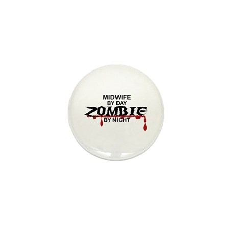 Midwife Zombie Mini Button (100 pack)