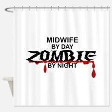 Midwife Zombie Shower Curtain