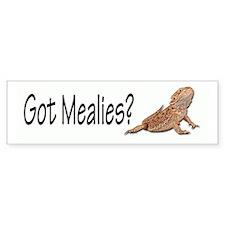 Bearded Dragon Got Mealies? Bumper Bumper Sticker