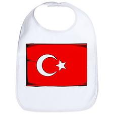 Turkey Flag Bib