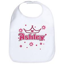 Ashley Princess Crown Star Bib