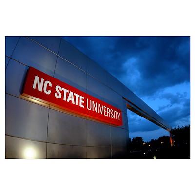 NC State University Photographs Campus Gateway Poster