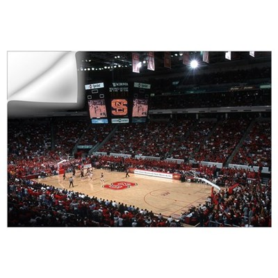 NC State University Pictures Home Court Advantage Wall Decal