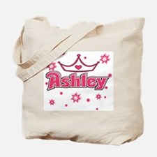 Ashley Princess Crown Star Tote Bag