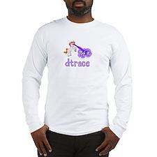 DTrace Laser Pony Long Sleeve T-Shirt