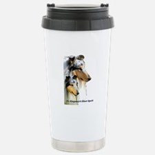 Collie Stainless Steel Travel Mug